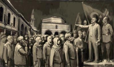 KASTAMONU CUMHURİYET MEYDANI'NA ÇİFTE RÖLYEF