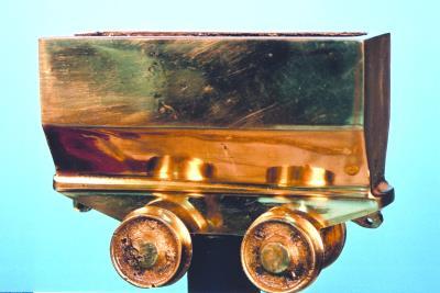 Maden Ocaklarında Kullanılan Vagon Figürü