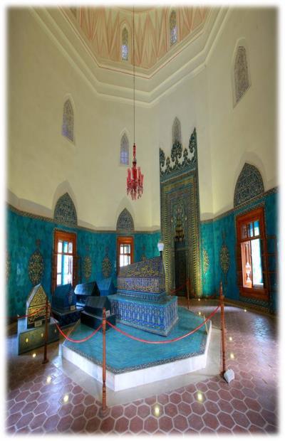 Yeşil Türbe İç Mekan Bursa Büyükşehir Belediyesinden 2012 yılında alınmıştır.