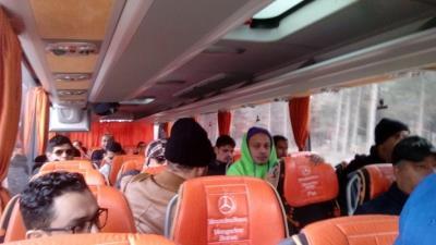 ARAP DÜNYASININ DEĞİŞİK ÜLKELERİNDEN 25 BASIN MENSUBUNUN BURSA'MIZI ZİYARETLERİ