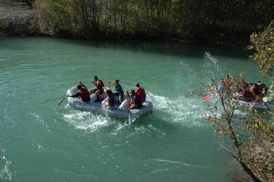 Munzur Suyunda Rafting