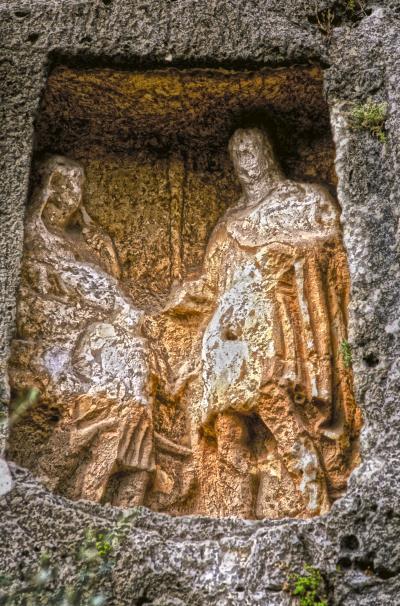 Adamkayalar (Silifke-Mersin) (Fotoğraf: Mersin İl Kültür ve Turizm Müdürlüğü Arşivi)
