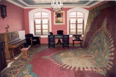 40 m²lik Halı ve Konsol Piyano