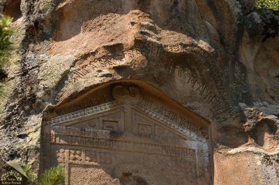 Midas Anıtı (Yazılıkaya), Han İlçesi