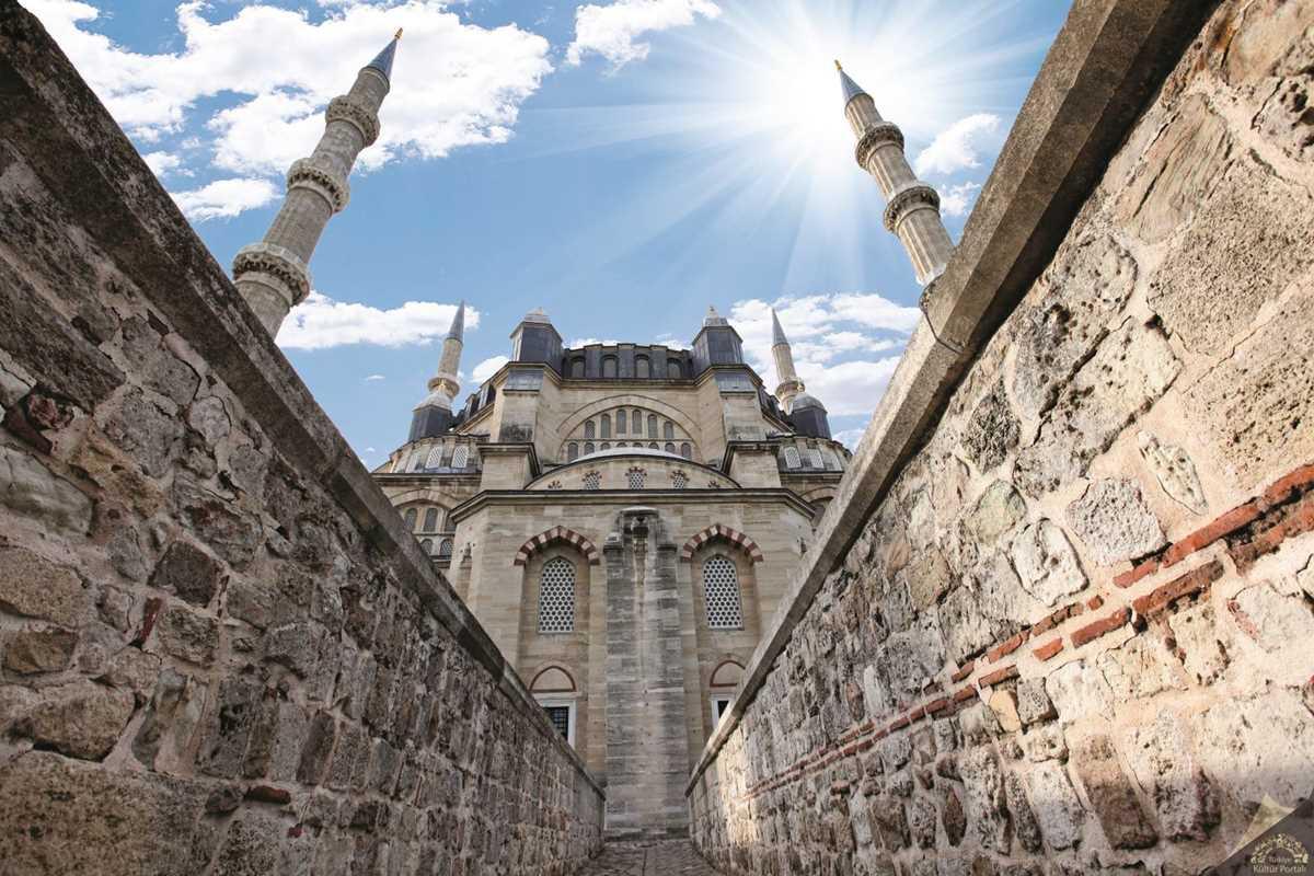 Edirne Selimiye Camii Ve Kulliyesi Kultur Portali