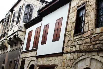 Tarihi Tarsus Evleri (Tarsus-Mersin) (Fotoğraf: Mersin İl Kültür ve Turizm Müdürlüğü Arşivi)