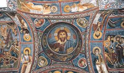 Göreme Açıkhava Müzesi Karanlık Kilise